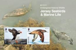 2021 Europa 2021 Endangered National Wildlife - Souvenir Miniature Sheet, Jersey, MNH - Jersey
