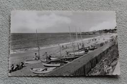Cpsm 1963, Sainte Marguerite, Pornichet, Les Bateaux De Plaisance Sur La Plage, Loire Atlantique 44 - Pornichet