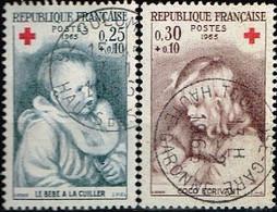 FRANCE / Oblitérés / Used /1965 - Croix Rouge / YVT N°1466/1467 / MI.N°1532/1533 - Usados