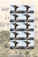 2021 Europa 2021 Endangered National Wildlife - 54p Sheet Of Ten, Jersey, MNH - Jersey