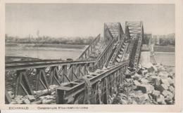 68 - CHALAMPE-EICHWALD - DESTRUCTION DU PONT DE CHEMIN DE FER - Chalampé
