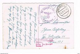 Feldpost : Linz A. D. Donau, Adolf Hitler-Platz. - 16.7.1941 - Cartas