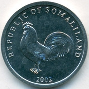 Somaliland 5 Shilling 2002 UNC  Rooster - Somalia