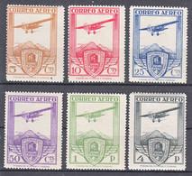 Spain 1930 Airmail Mi#457-462 Mint Hinged - Neufs