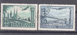 Yugoslavia Kingdom, Airmail 1940 Mi#426-427 Used - Oblitérés