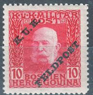 Austria Feldpost 1915 Mi#6 Mint Hinged - Unused Stamps