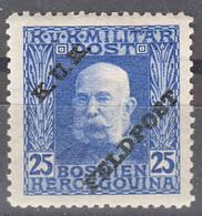 Austria Feldpost 1915 Mi#9 Mint Hinged - Unused Stamps