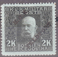 Austria Feldpost 1915 Mi#18 Mint Hinged - Unused Stamps