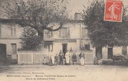 MONTUSSAN (Gironde): Maison Touleuvre (Bureau De Tabacs) - Route De Bordeaux-Paris - Other Municipalities