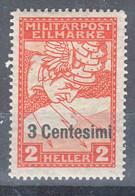 Italy Occupation Of Austria Sassone#R1 (carta Bianca) Mi#24 ND Mint Hinged - Unused Stamps