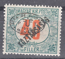 Hungary Debrecen Debreczin 1919 Porto Mi#15 Mint Hinged - Debreczin
