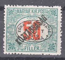 Hungary Debrecen Debreczin 1919 Porto Mi#16 Mint Hinged - Debreczin