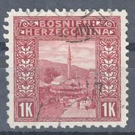 Austria Occupation Of Bosnia 1906 Pictorials Mi#41 Perforation 9 1/4, Used - Usados