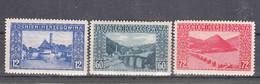 Austria Occupation Of Bosnia 1912 Mi#61-63 Mint Hinged - Unused Stamps