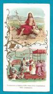 Santino/holycard: S. GIOVANNI BATTISTA: VIII° Centenario Traslazione - E - BR - Mm. 69 X 128 - Cromolitografia - Religion & Esotericism