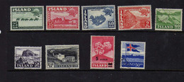 Islande (1949-58) -  UPU - Sites - Obliteres Ou Neufs* - Gebraucht