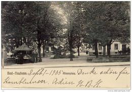 BAD NAUHEIM - Alicenplatz. , 1905, In USA  Gelaufen - Bad Nauheim