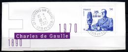 France Oblitéré Used  2020 Charle De Gaulle De Bloc   N° >>>>  Cachet Rond - Gebraucht