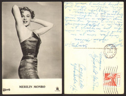 Marilyn Monroe Movie Actres Old Postcard #32194 - Attori