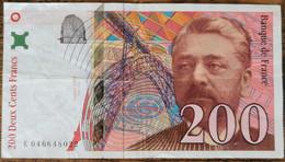 Billet De 200 Francs Gustave EIFFEL 1996 FRANCE E046648022 - 200 F 1995-1999 ''Eiffel''