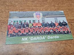Old Pocket Calendars - Croatia, Soccer, NK Darda - Tamaño Pequeño : 2001-...
