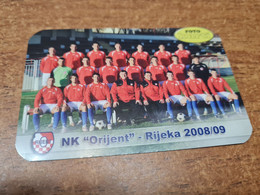 Old Pocket Calendars - Croatia, Soccer, NK Orijent - Tamaño Pequeño : 2001-...
