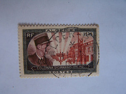 FRANCE ALGERIE FRANCAISE 1951 OBLITERE COLONNA D'ORNANO ALGER - Used Stamps