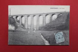 27033  CPA  XERTIGNY : Le Viaduc !!  1906 !! Annimation Différente !! - Xertigny
