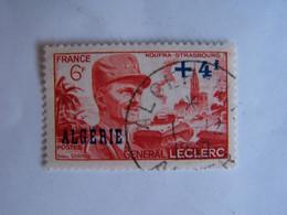 ALGERIE 1949 OBLITERE 1-12-1949 GENERAL LECLERC - Oblitérés