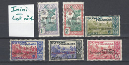 ININI : Lot 1 De 6 Timbres Oblitérés - Used Stamps