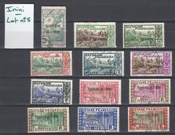 ININI : Lot 5 Des 12 Timbres De La Série 2 Oblitérés (YT36 à YT47) - Used Stamps