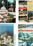 64 / PYRENNEES ATLANTIQUES  /  Lot De 1000 Cartes Postales Modernes écrites - 500 Karten Min.
