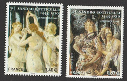 FRANCE 2010 Timbre Issu Du Bloc F4518 Sandro Botticelli Oblitéré - Used Stamps