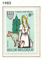 NB - [152287]TB//**/Mnh-[2100] Belgique 1983, Tinekesfeesten à Heule, Traite Des Vaches, SNC - Landbouw