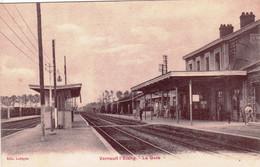 77 - Seine Et Marne -  VERNEUIL L ETANG - La Gare - Autres Communes
