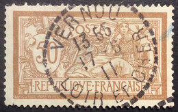 120 ° 6 Loir Et Cher Tireté Merson 50 C Brun Et Gris 13 55 17/5/1911 Oblitéré - 1877-1920: Semi-Moderne