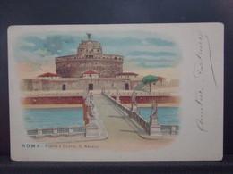 376 EUROPE . ROMA . PONTE E CASTEL S. ANGELO - Autres Monuments, édifices