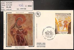 D - [405760]B/TB//-France  - (37) Tavant, Indre-Et-Loire, Eglise Saint-Nicolas, Vierge Douloureuse - Churches & Cathedrals