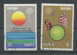 Malte - Malta 1986 Y&T N°727 à 728 - Michel N°746 à 747 (o) - EUROPA - Malta