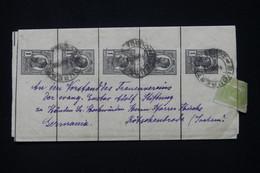 ROUMANIE - 5 Bandes Journal Se Tenant + Complément De Bucaresti Pour L 'Allemagne - L 91696 - Entiers Postaux