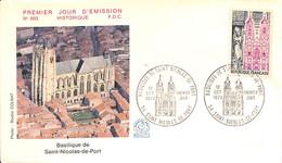 D - [406641]B/TB//-France  - (54) Basilique-de-Saint-Nicolas-de-Port, Eglises Et Cathédrale - Churches & Cathedrals