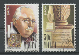 Malte - Malta 1994 Y&T N°901 à 902 - Michel N°926 à 927 (o) - EUROPA - Malta