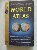 """World Atlas"" Rand McNally-Pocket - 1951 - Other"