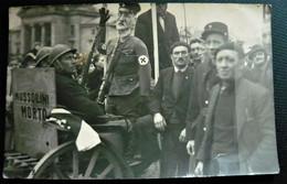 Libération De PONTARLIER ( 25 Doubs ) Devant Le Palais De Justice Carte Photo Draglo - Pantin Hitlérien Guerre 39 45 WW2 - Pontarlier