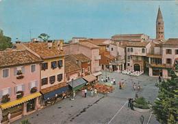 CAORLE-VENEZIA-CENTRO STORICO-CARTOLINA VERA FOTOGRAFIA  VIAGGIATA IL 3-8-1982 - Venezia (Venedig)