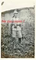 PHOTO FRANCAISE DU 27e DRAGONS - BEAU DRAGON EN TENUE A ERIZE LA BRULEE PRES BAR LE DUC MEUSE - GUERRE 1914 1918 - 1914-18