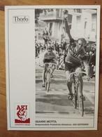 Cyclisme - Carte Publicitaire THÖRLO AKI 1989 : Gianni MOTTA - Cycling