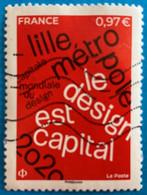 France 2020 : Lille Métropole Capitale Mondiale Du Design N° 5372 Oblitéré - Usati