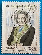 France 2020 : Jacqueline De Romilly N° 5380 Oblitéré - Usati