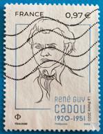 France 2020 : René Guy Cadou N° 5381 Oblitéré - Usati
